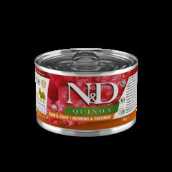 N&D Quinoa Skin & Coat - Herring & Coconut