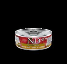 N&D Quinoa Cat Skin & Coat - Quail & Coconut