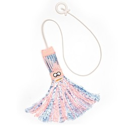 Catnip Toy Tassel Type Pink/Blue