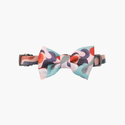 Cat Bow Tie Collar Dreamy Camouflage