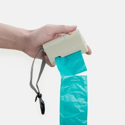 Poop Bag Dispenser Flashlight Type