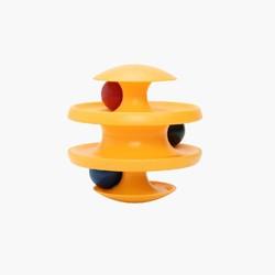 Ball & Track Swinging Tumbler Cat Toy