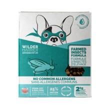 Wild Harrier Dry Dog Food Farmed Insects Formula 2kg