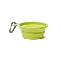Silicone Collapsible Bowl Green
