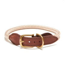 Adjustable Rope Collar - Champagne Medium