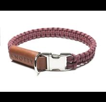 Clip Collar Burgundy