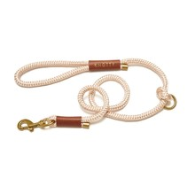 Rope Leash Champagne – Brass