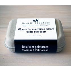 Basil and Palmarosa Organic Soap 135 gr