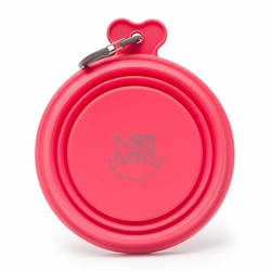 Silicone Collapsible Bowl Red