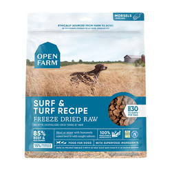 Open Farm Dog Freeze Dried Surf & Turf Recipe
