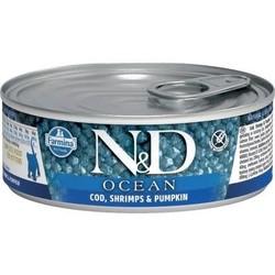 N&D Ocean Cat Food Canned Cod, Shrimp & Pumpkin  2.8oz