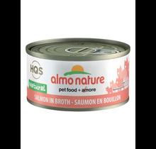 HQS Natural Cat Salmon in Broth