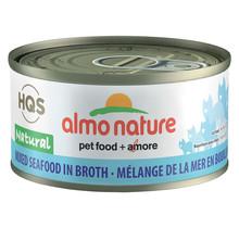 HQS Natural Cat Mixed Sea Food 70gr