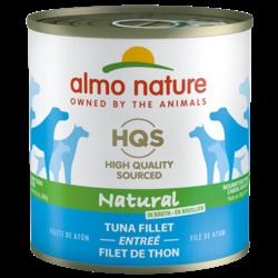 Almo Nature HQS Adult Dog Food Entre Tuna FilletT 12X280GR