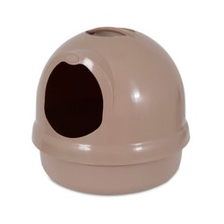 Dome Litter Box Titanium