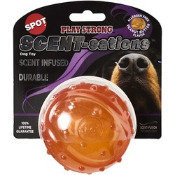 SPOT Scent-Infused Rubber Ball Peanut Butter