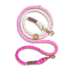 Cotton Candy Cotton Rope Leash