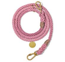 Blush Cotton Rope Dog Leash