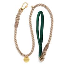 Emerald Washable Velvet Leash