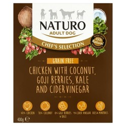Naturo Canine Chef's Selection Grain Free Chicken with Coconut