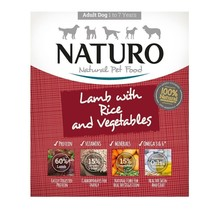 Naturo Canine Mini Adult Lamb & Rice with Veg
