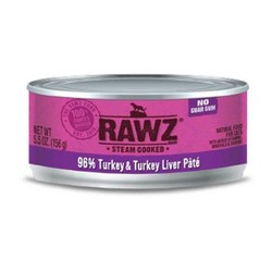 Rawz Cat 96% Salmon Turkey & Turkey Liver