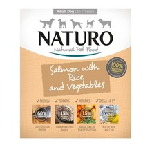 Adult Dog - Grain Free Salmon  with Rice &  Vegetables