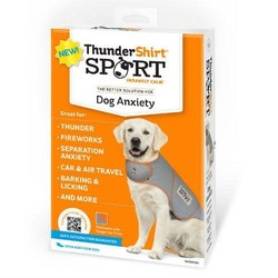 Thunder Shirt Dog Sport Platinum