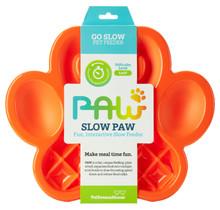 PAW 2-1 Slow Feeder Orange