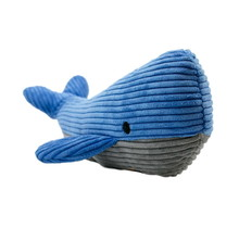 """Plush Whale Squeaker Toy - 12"""""""