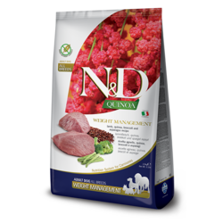N&D Quinoa Grain Free Dog Wight Management Lamb