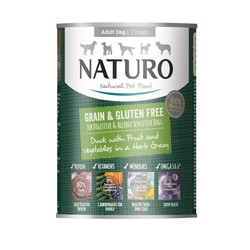 Copy of Naturo Grain & Gluten Free Beef with Chicken and Vegetables in a Herb Jelly