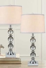 TMI LLC Crystal Table Lamp 2PK