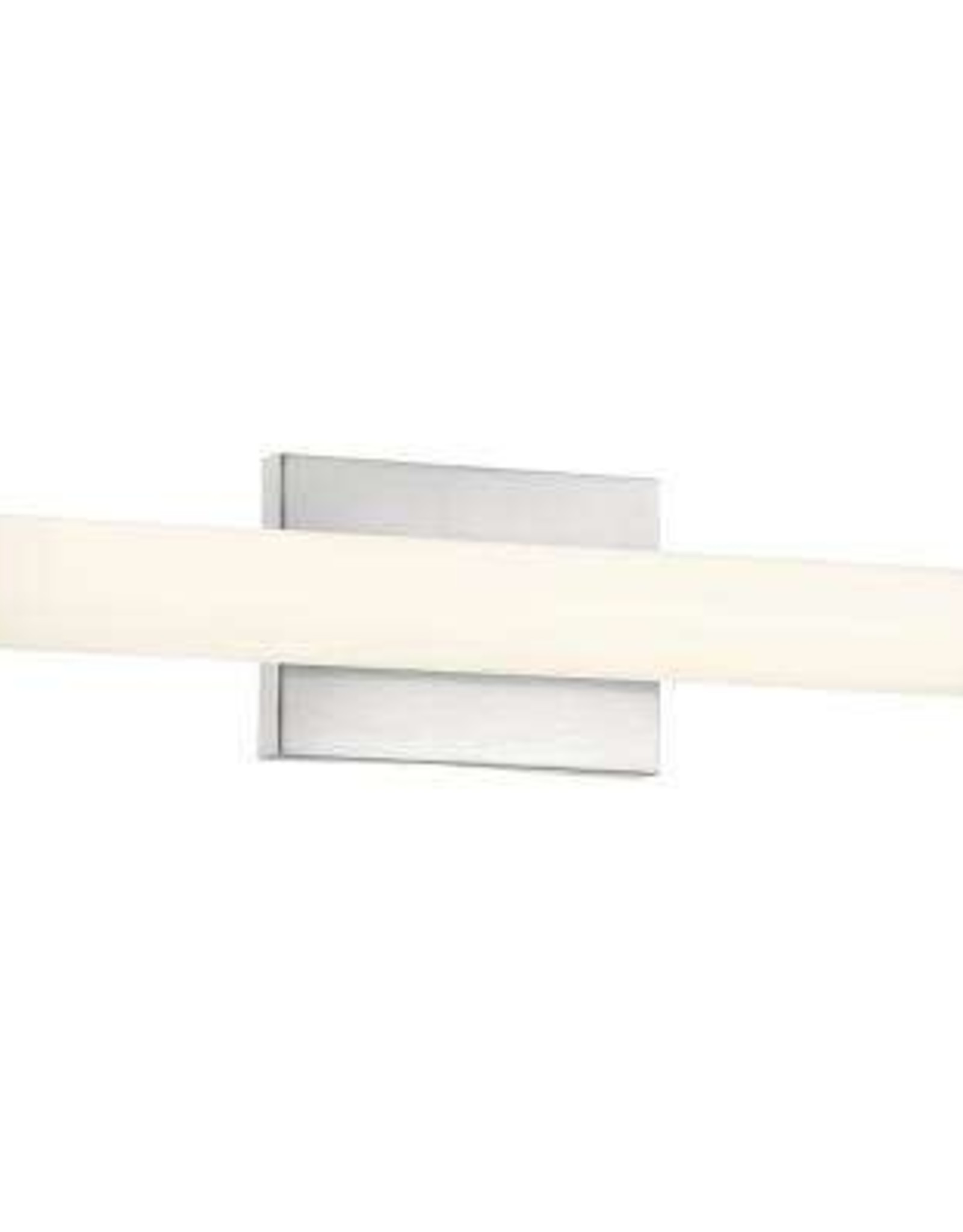 Access Lighting Arc 20-Watt Brushed Steel Integrated LED Bath Light