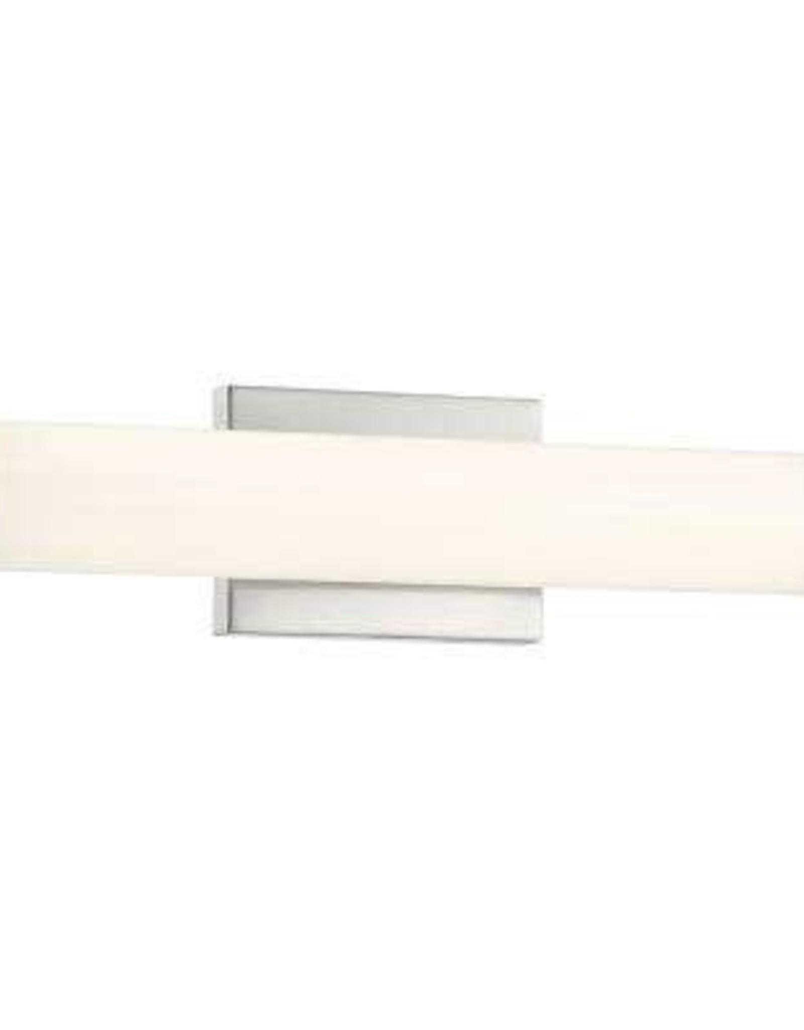 Access Lighting Summit 20-Watt Brushed Steel Integrated LED Bath Light
