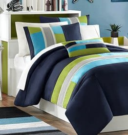 JLA Home MZ Pipeline Ove Full/Queen Bedding Set