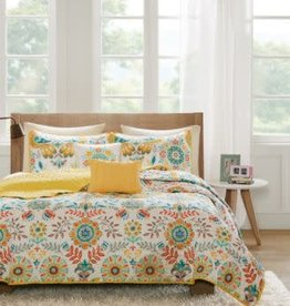 JLA Home NINA Twin/TwinXL 4 PC Coverlet Set