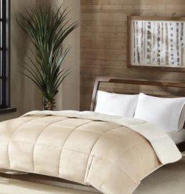 JLA Home PC Sherpa Twin Comforter TAUPE