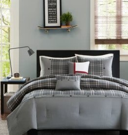 JLA Home DARYL Queen/Full 5PC Duvet Set