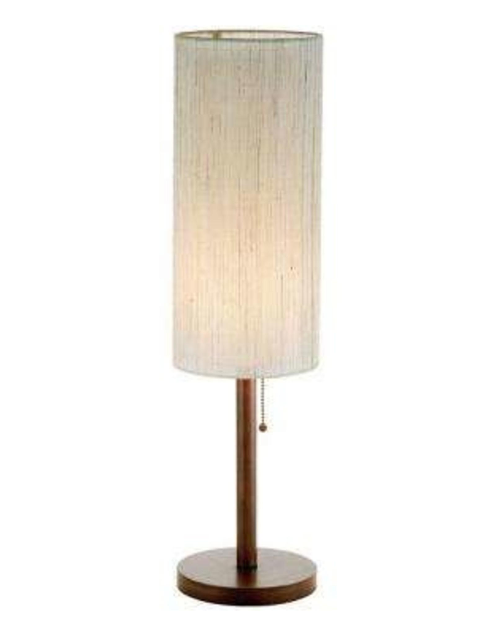 Adesso Hamptons 31 in. Walnut Table Lamp