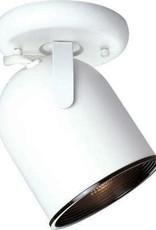 Progress Lighting 1-Light White Spotlight Fixture