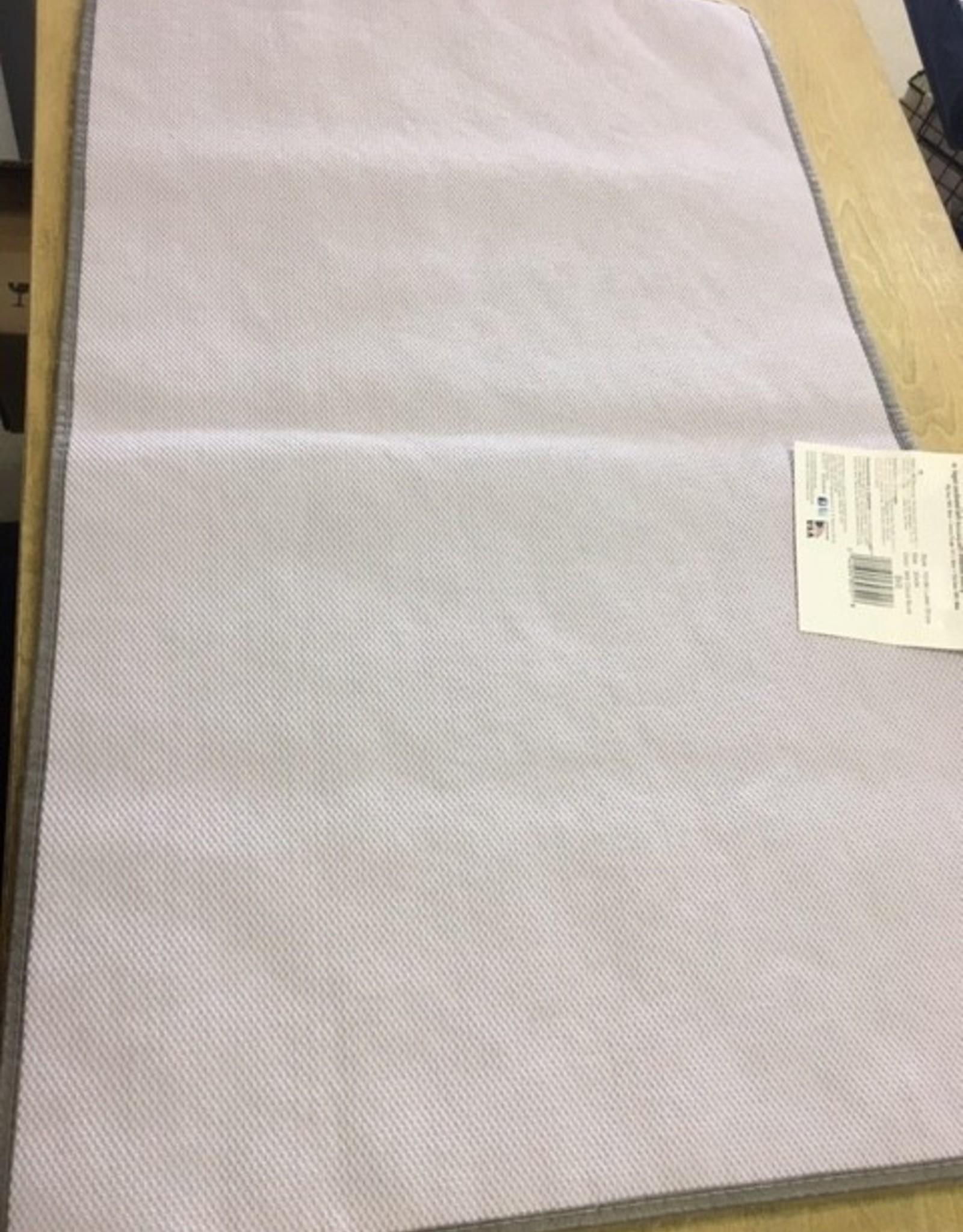 American Rug Mohawk Stripe Bath Mat GREY 20X34