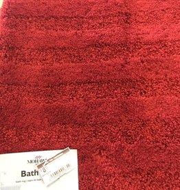 American Rug Mohawk Stripe Bath Mat RED 20X34