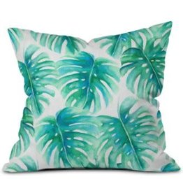 Deny Designs PARADISE PALMS PILLOW BASIC