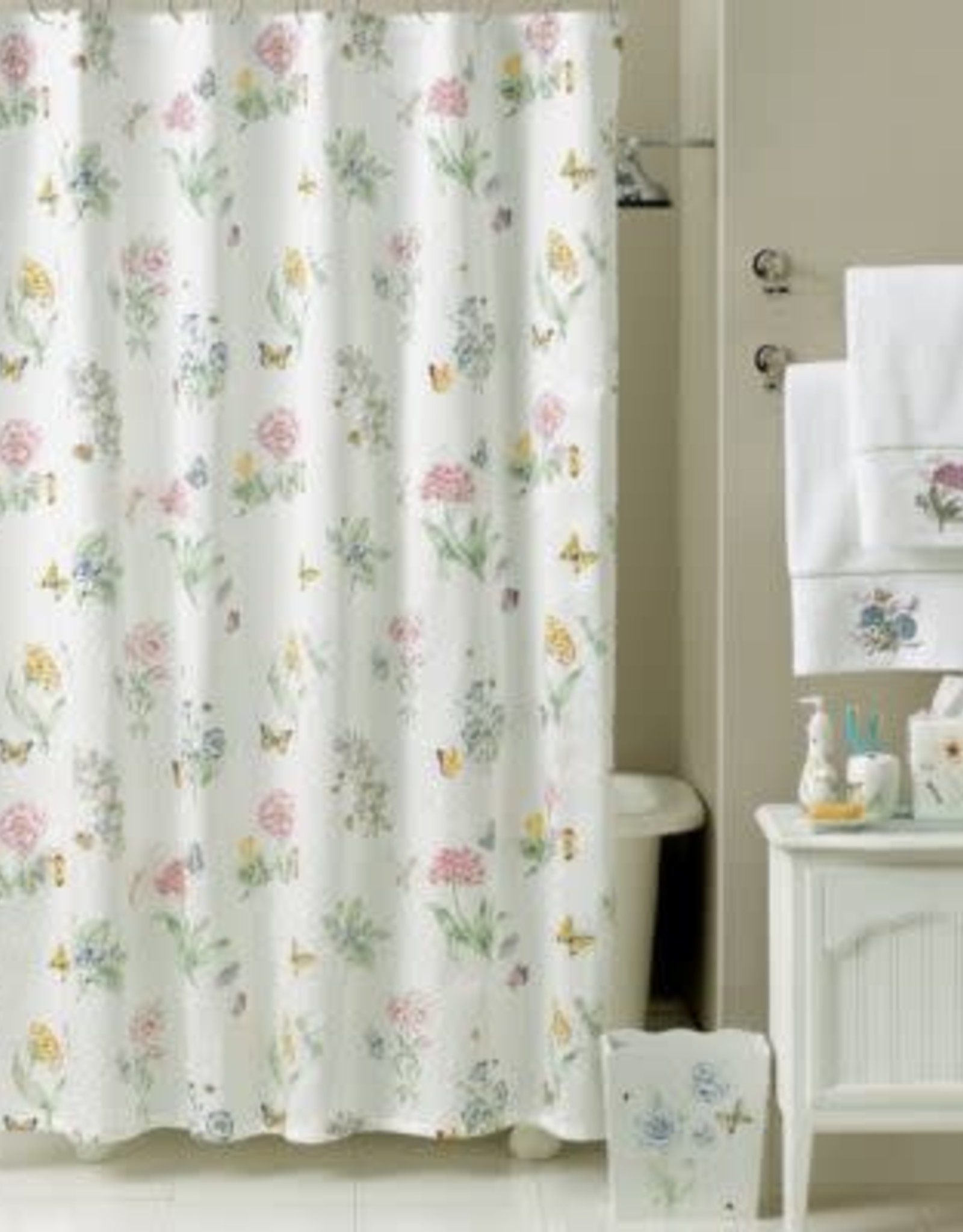 Lenox Lenox Butterfly Meadow Shower Curtain 72X72