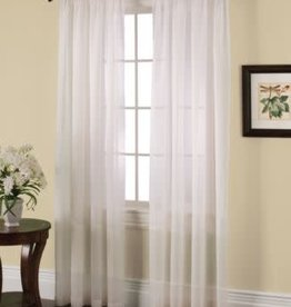 "Miller Curtains SOLUNAR 54X84"" IVORY PANEL"