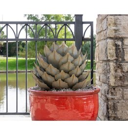DESERT STEEL CORPORATION ARTICHOKE AGAVE GARDEN SCULPTURE