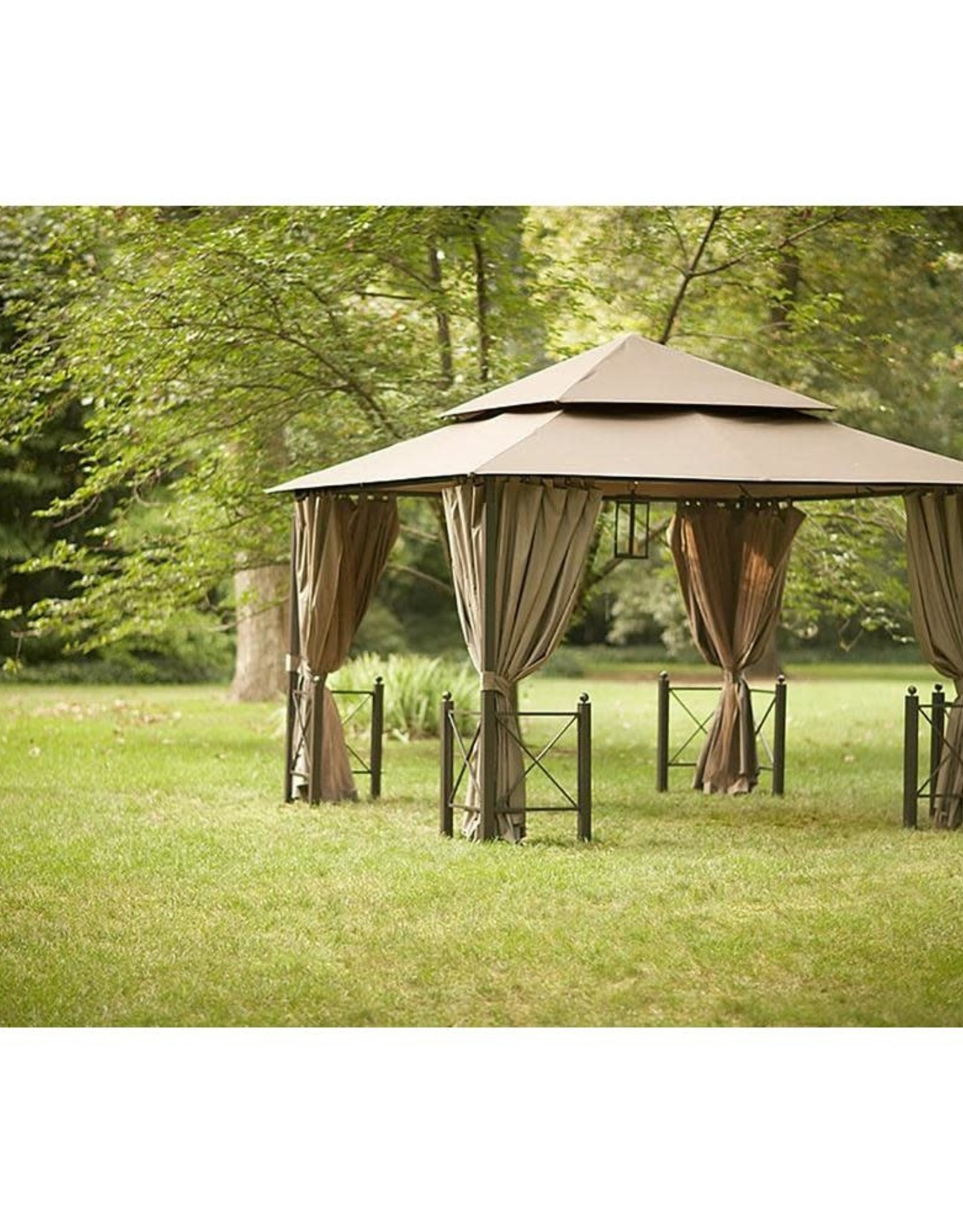 Replacement Canopy Outdoor Patio for 12 ft. x 12 ft. Harbor Gazebo