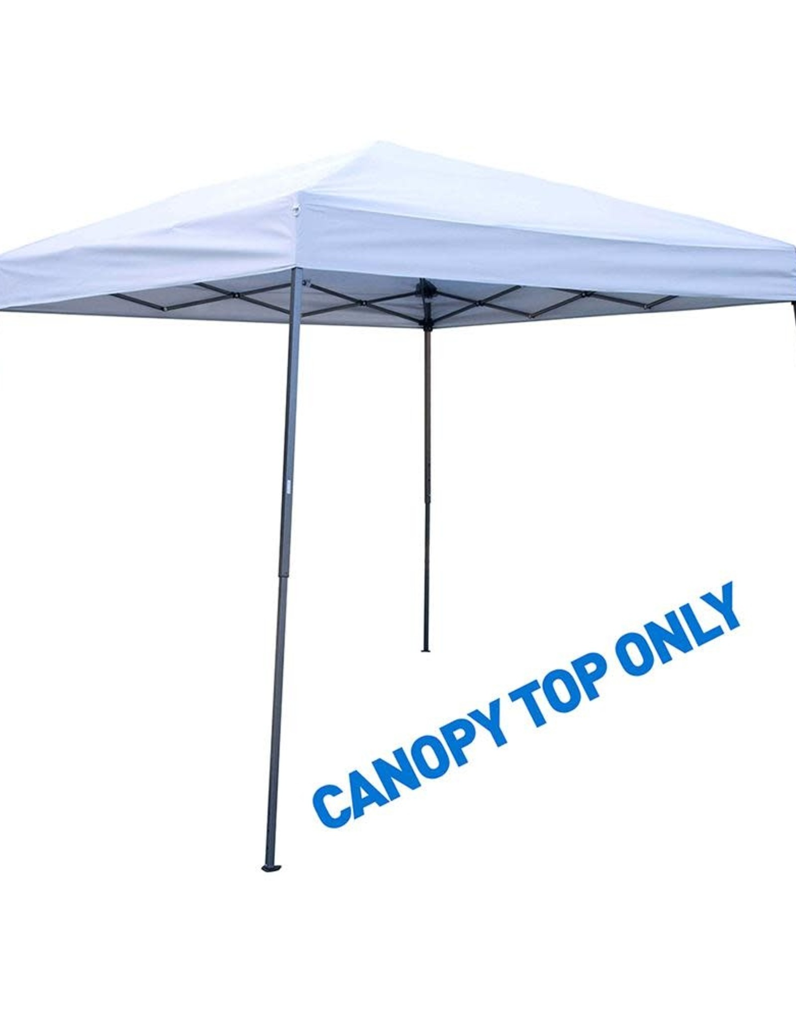 8 ft. x 8 ft. Silver Square Replacement Canopy Gazebo Top For 10 ft. Slant Leg Canopy