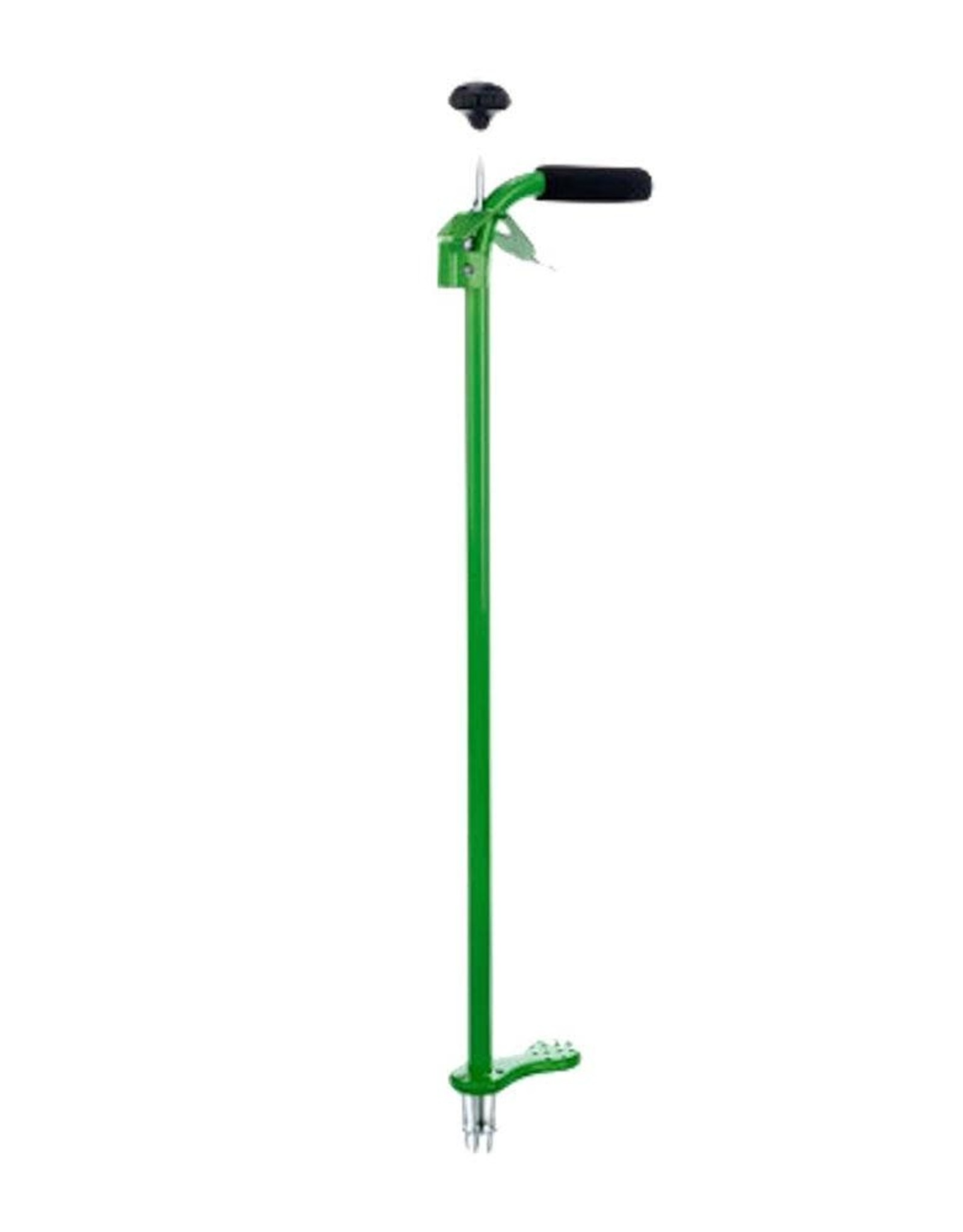 Stand-Up Weeding Tool with Spring Release